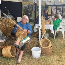 Skep making by one of the members of the association